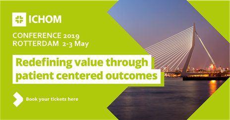 ICHOM conference 2019: Redefining value through patient